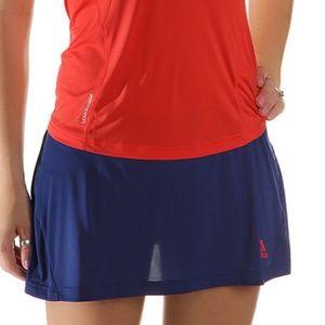 Adidas Adizero Skort Hero Ink Blue/Hi Res Red S